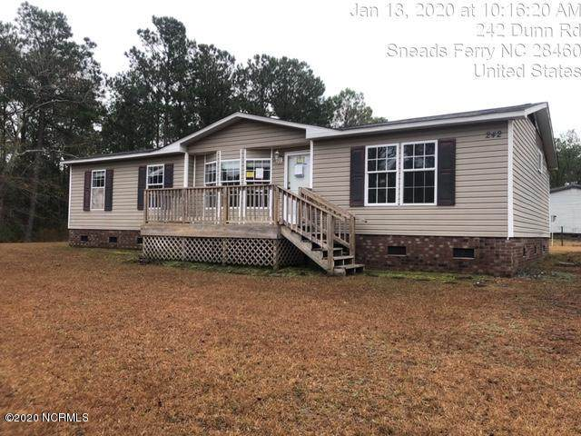 242 Dunn Road, Sneads Ferry, NC 28460 (MLS #100204540) :: Frost Real Estate Team