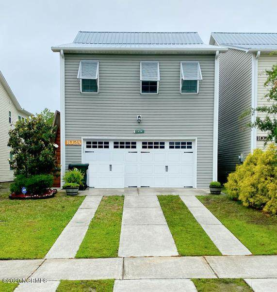 102 A James Ave Avenue, Surf City, NC 28445 (MLS #100218304) :: The Oceanaire Realty