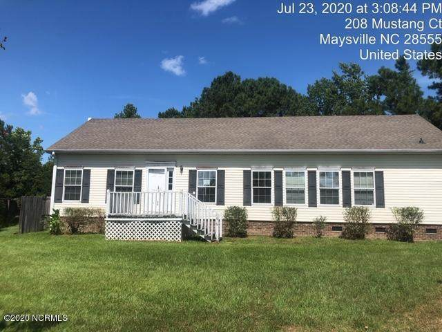 208 Mustang Court, Maysville, NC 28555 (MLS #100229421) :: The Chris Luther Team