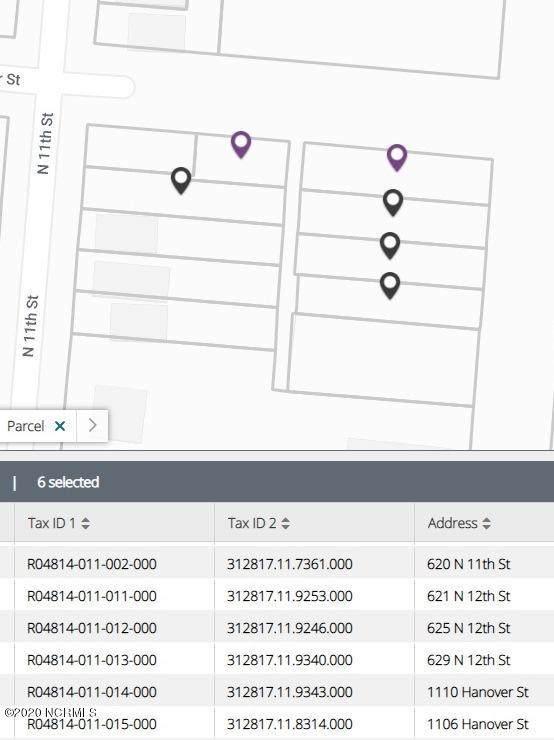 620 N 11th (Multi Parcel) Street, Wilmington, NC 28401 (MLS #100238810) :: David Cummings Real Estate Team