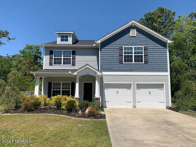 504 Sea Grass Court, Swansboro, NC 28584 (MLS #100259370) :: David Cummings Real Estate Team