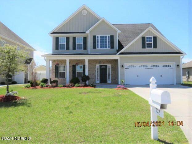 723 Radiant Drive, Jacksonville, NC 28546 (MLS #100266845) :: The Oceanaire Realty