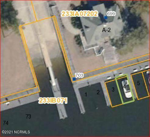 Slip 4 Seascape Marina Slip 4, Holden Beach, NC 28462 (MLS #100273425) :: Carolina Elite Properties LHR