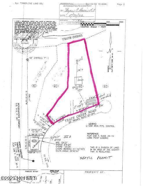 Lot 43 Yeats Creek Road, Chocowinity, NC 27817 (MLS #100276629) :: CENTURY 21 Sweyer & Associates