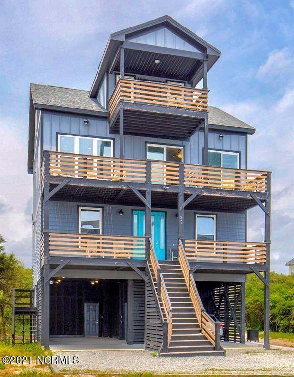 27 Porpoise Place, North Topsail Beach, NC 28460 (MLS #100291944) :: CENTURY 21 Sweyer & Associates