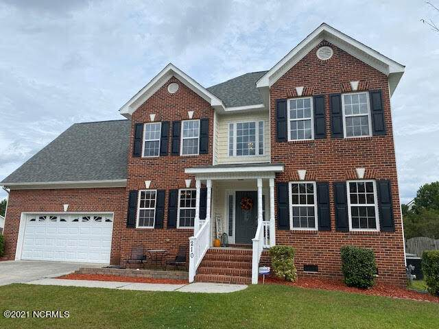 210 Stagecoach Drive, Jacksonville, NC 28546 (MLS #100296243) :: Great Moves Realty