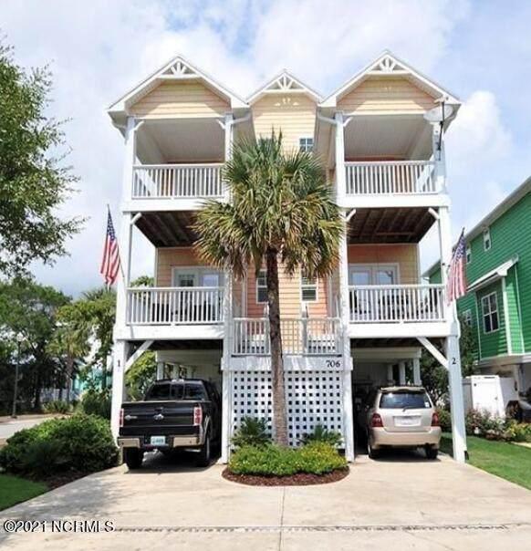 706 Ocean Boulevard Unit 2, Carolina Beach, NC 28428 (MLS #100296428) :: Shapiro Real Estate Group