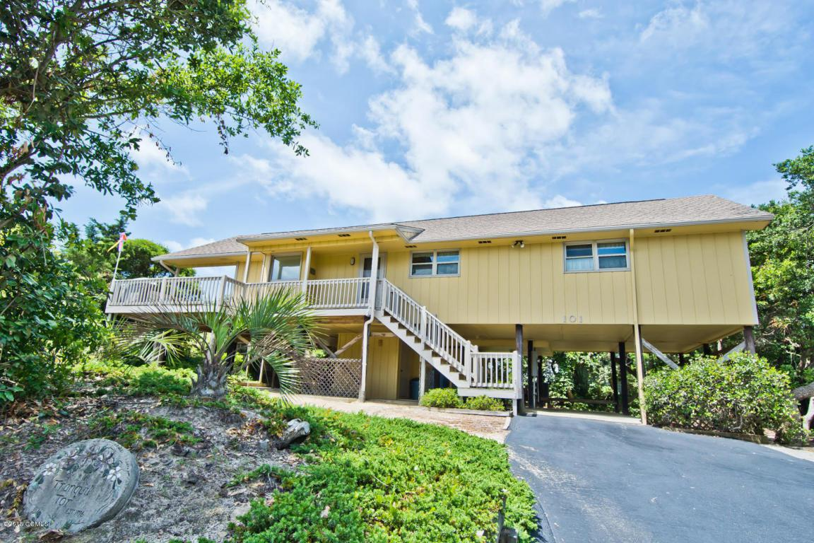 101 Craig Drive, Emerald Isle, NC 28594 (MLS #11502958) :: Century 21 Sweyer & Associates