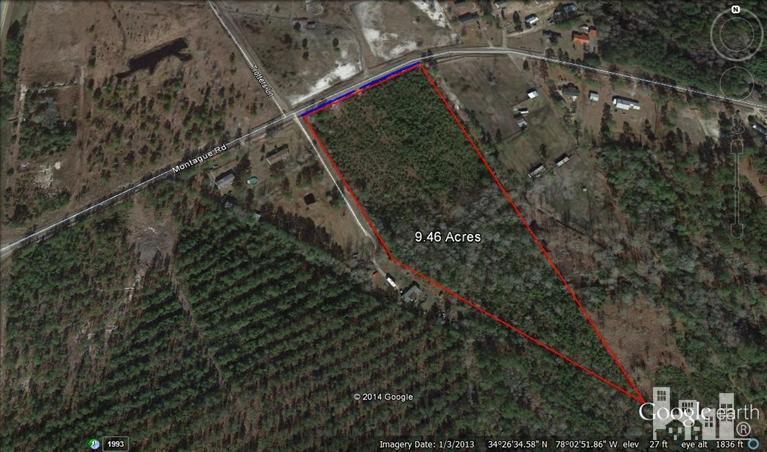 0 Montague Road, Currie, NC 28435 (MLS #30507230) :: Century 21 Sweyer & Associates