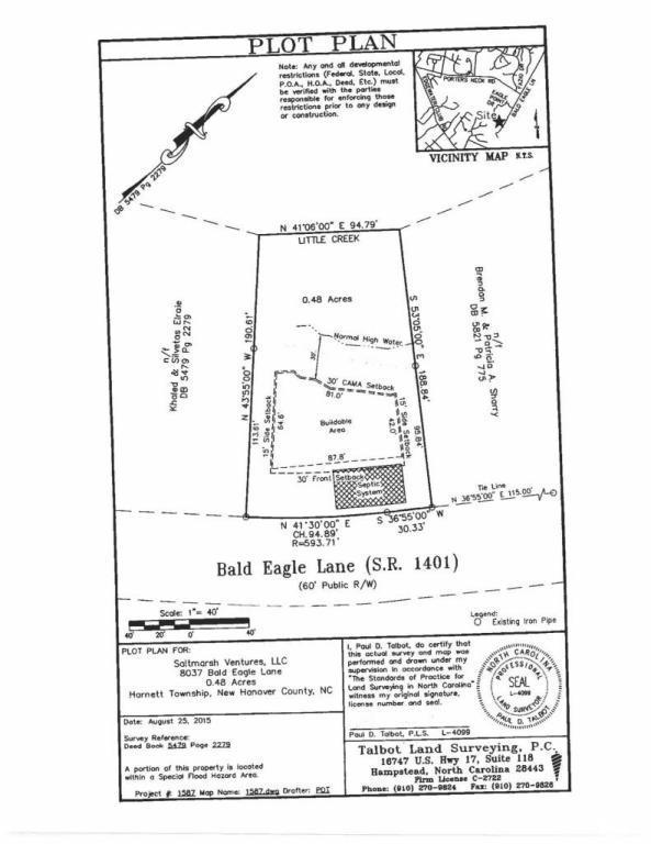 8037 Bald Eagle Lane, Wilmington, NC 28411 (MLS #30531478) :: Century 21 Sweyer & Associates