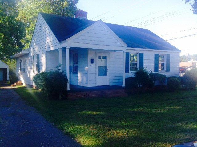1131 SW Delano Avenue SW, Wilson, NC 27893 (MLS #60053607) :: Century 21 Sweyer & Associates