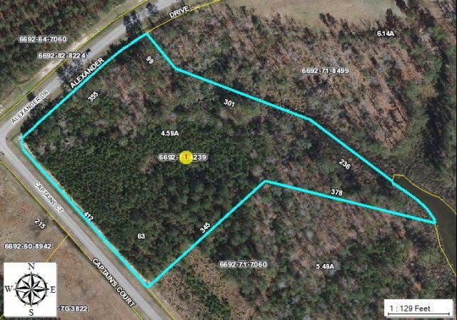 Lot 63 Alexander Drive, Belhaven, NC 27810 (MLS #70031071) :: Century 21 Sweyer & Associates