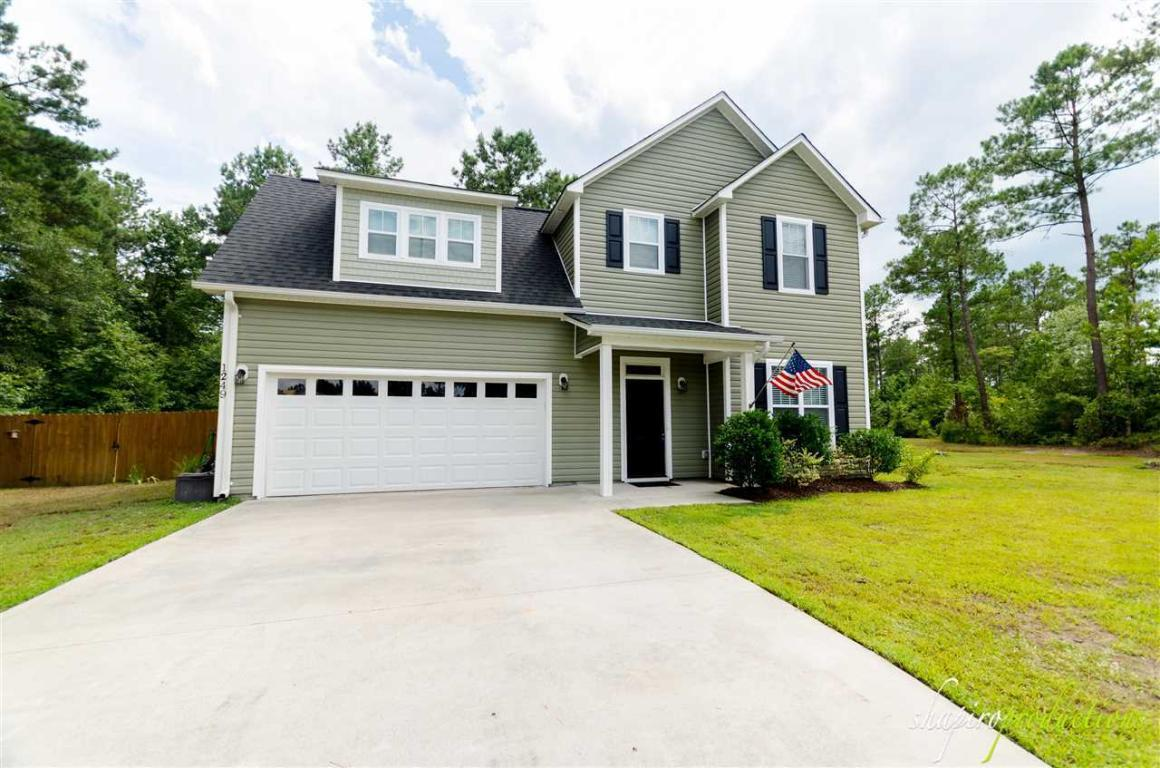 1249 Murrill Hill Road, Jacksonville, NC 28540 (MLS #80169322) :: Century 21 Sweyer & Associates