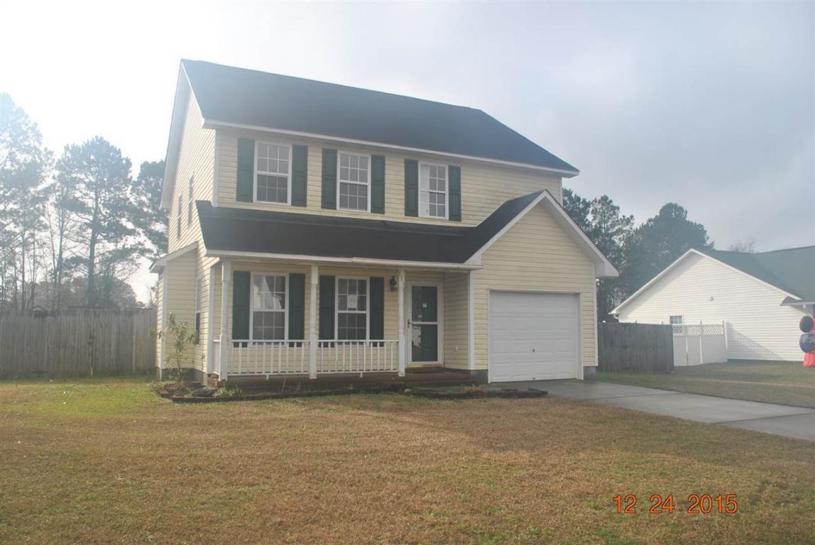 111 Hunt Drive, Hubert, NC 28539 (MLS #80173392) :: Century 21 Sweyer & Associates