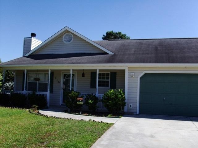 116 Glenwood Drive, Hubert, NC 28539 (MLS #80176782) :: Century 21 Sweyer & Associates