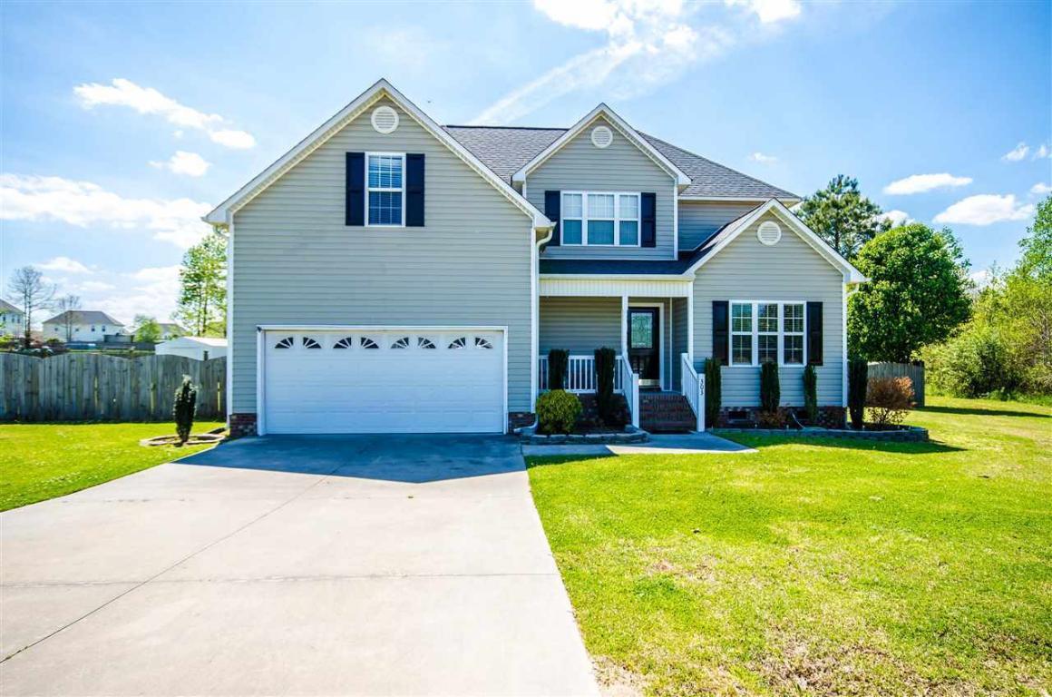 303 Jubilance Lane, Jacksonville, NC 28540 (MLS #80177074) :: Century 21 Sweyer & Associates