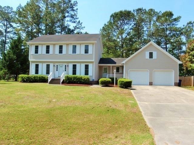 909 Pine Valley Road, Jacksonville, NC 28546 (MLS #80177584) :: Century 21 Sweyer & Associates