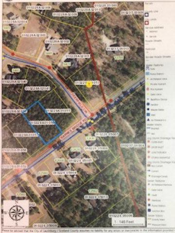 Lot-56 Barnes Bridge Road, Laurinburg, NC 28352 (MLS #96036630) :: Coldwell Banker Sea Coast Advantage