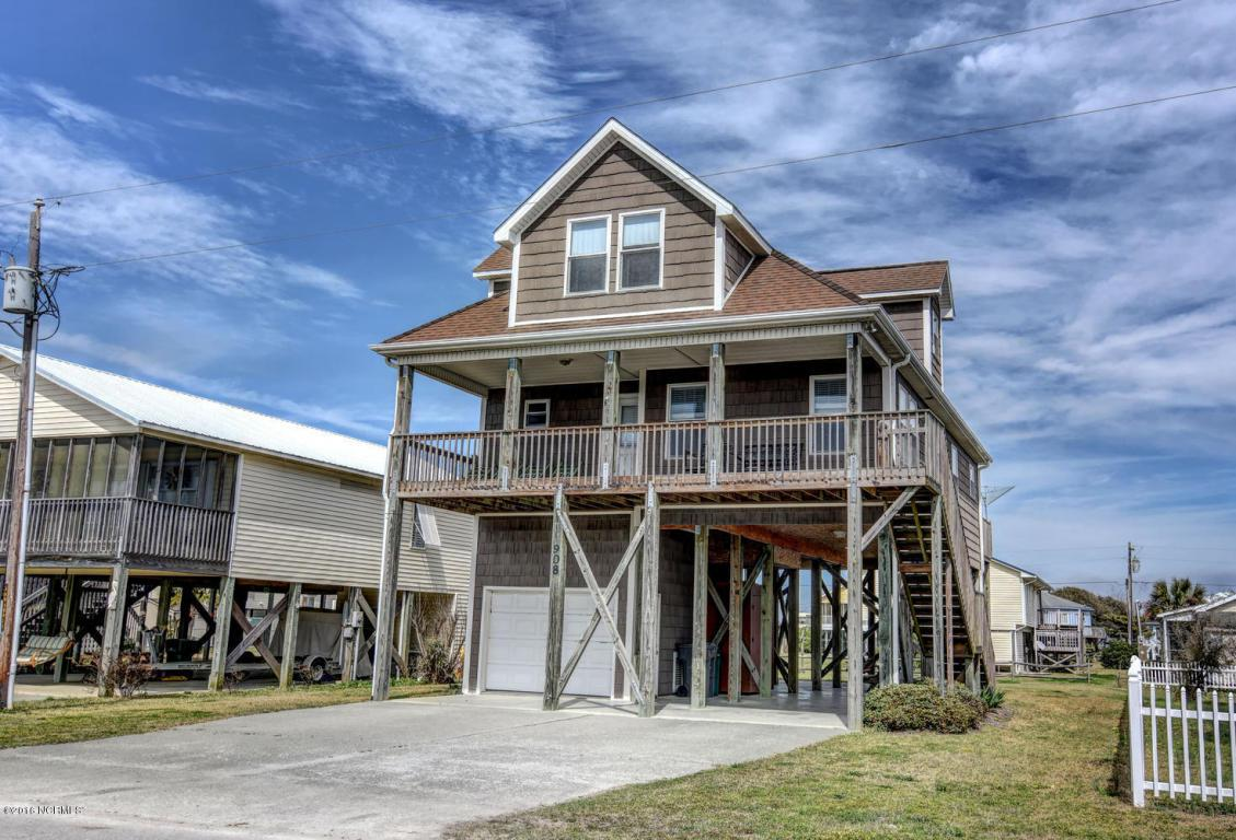 908 Broadway Street, Surf City, NC 28445 (MLS #100005859) :: Century 21 Sweyer & Associates