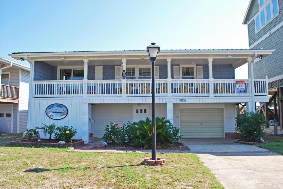 805 Ocean Boulevard W, Holden Beach, NC 28462 (MLS #100007788) :: Century 21 Sweyer & Associates
