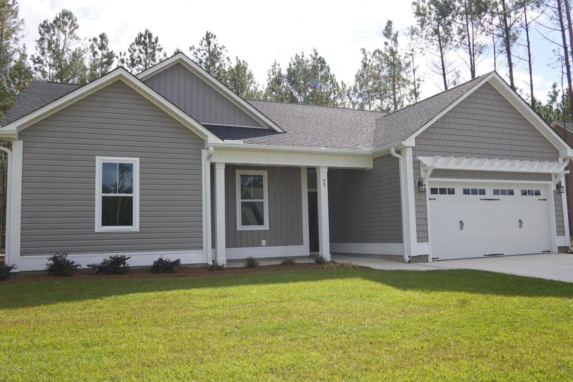 43 W Huckleberry Way, Rocky Point, NC 28457 (MLS #100012361) :: Century 21 Sweyer & Associates