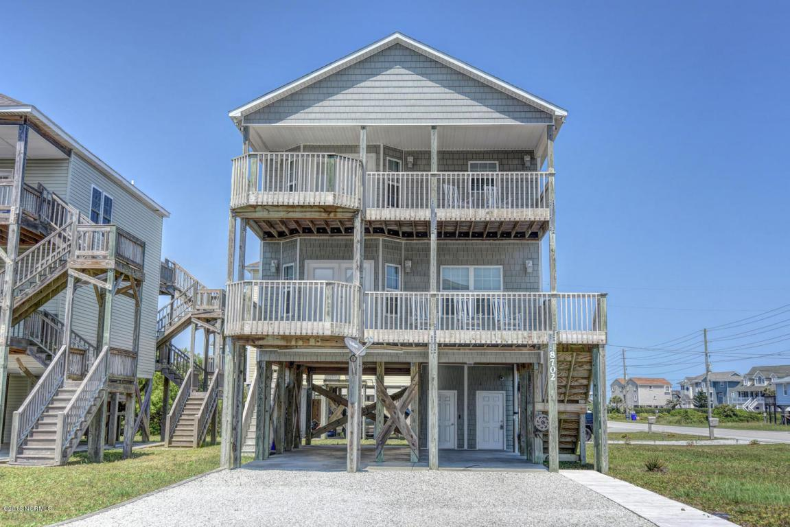 8702 3rd Avenue, North Topsail Beach, NC 28460 (MLS #100013764) :: Century 21 Sweyer & Associates