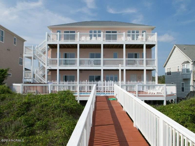 7305 Ocean Drive, Emerald Isle, NC 28594 (MLS #100015437) :: Century 21 Sweyer & Associates