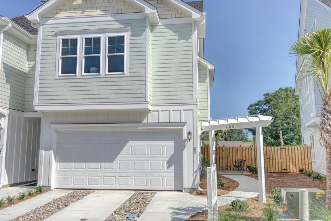 105 Bimini Townes Lane, Carolina Beach, NC 28428 (MLS #100018957) :: Century 21 Sweyer & Associates