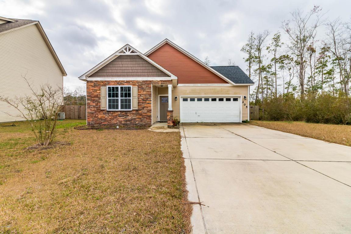 205 Hidden Oaks Drive, Jacksonville, NC 28546 (MLS #100019477) :: Century 21 Sweyer & Associates