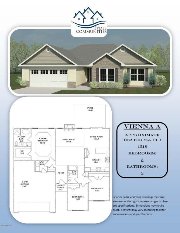402 Midnight Drive, Richlands, NC 28574 (MLS #100021206) :: Century 21 Sweyer & Associates