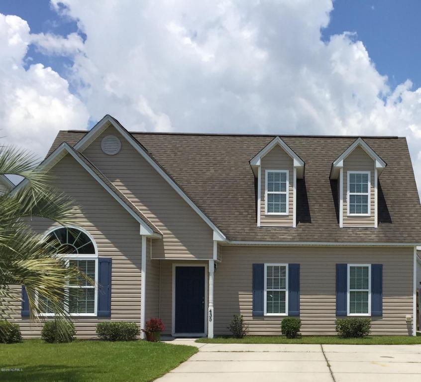 435 Hanna Drive, Wilmington, NC 28412 (MLS #100021723) :: Century 21 Sweyer & Associates