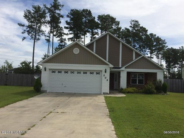 202 Ivy Glen Lane, Jacksonville, NC 28546 (MLS #100022621) :: Century 21 Sweyer & Associates