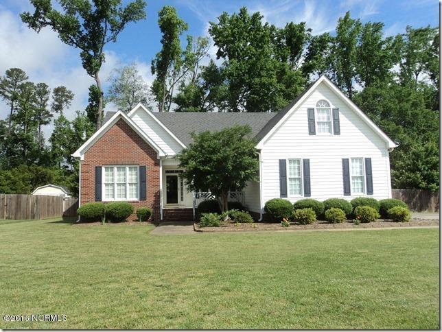 3537 Whetstone Place N, Wilson, NC 27896 (MLS #100024442) :: Century 21 Sweyer & Associates