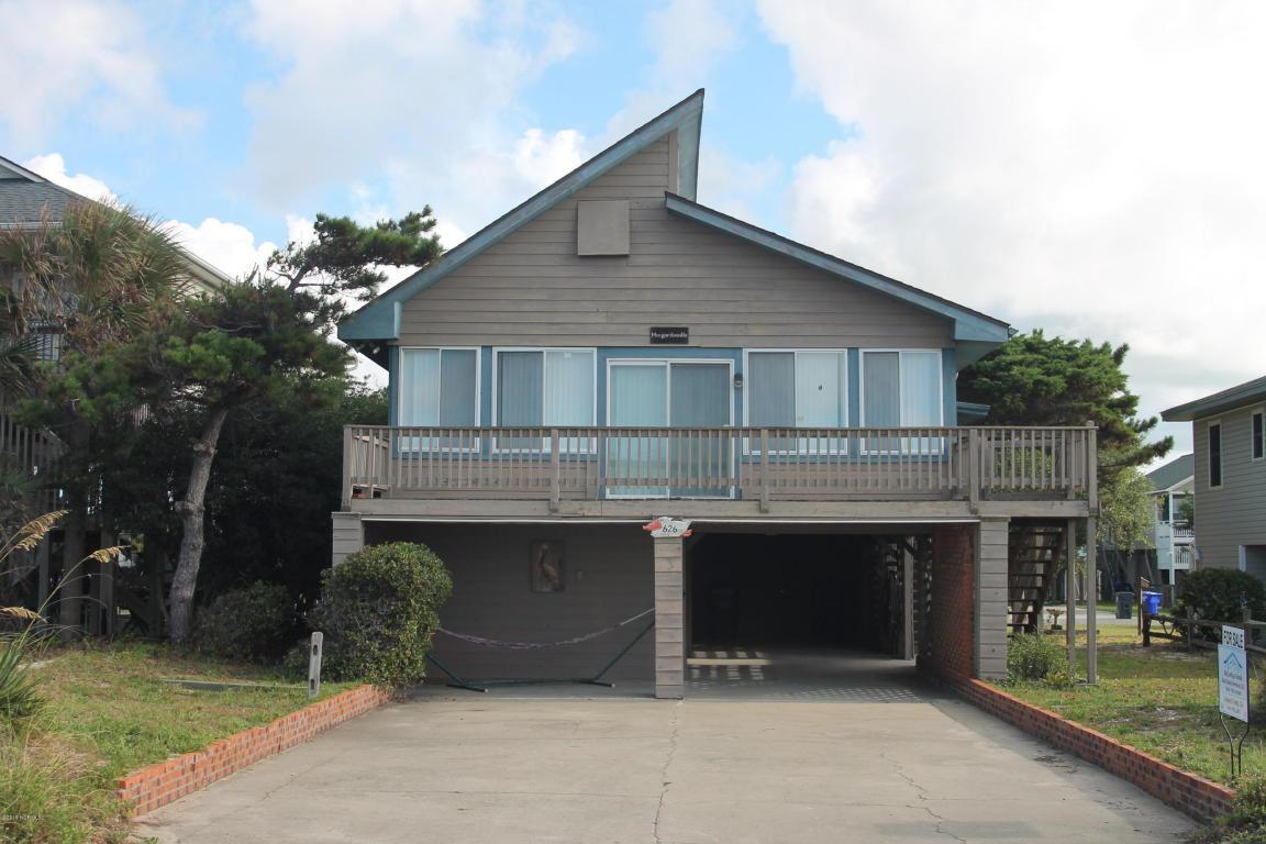 626 E Beach Drive, Oak Island, NC 28465 (MLS #100025607) :: Century 21 Sweyer & Associates