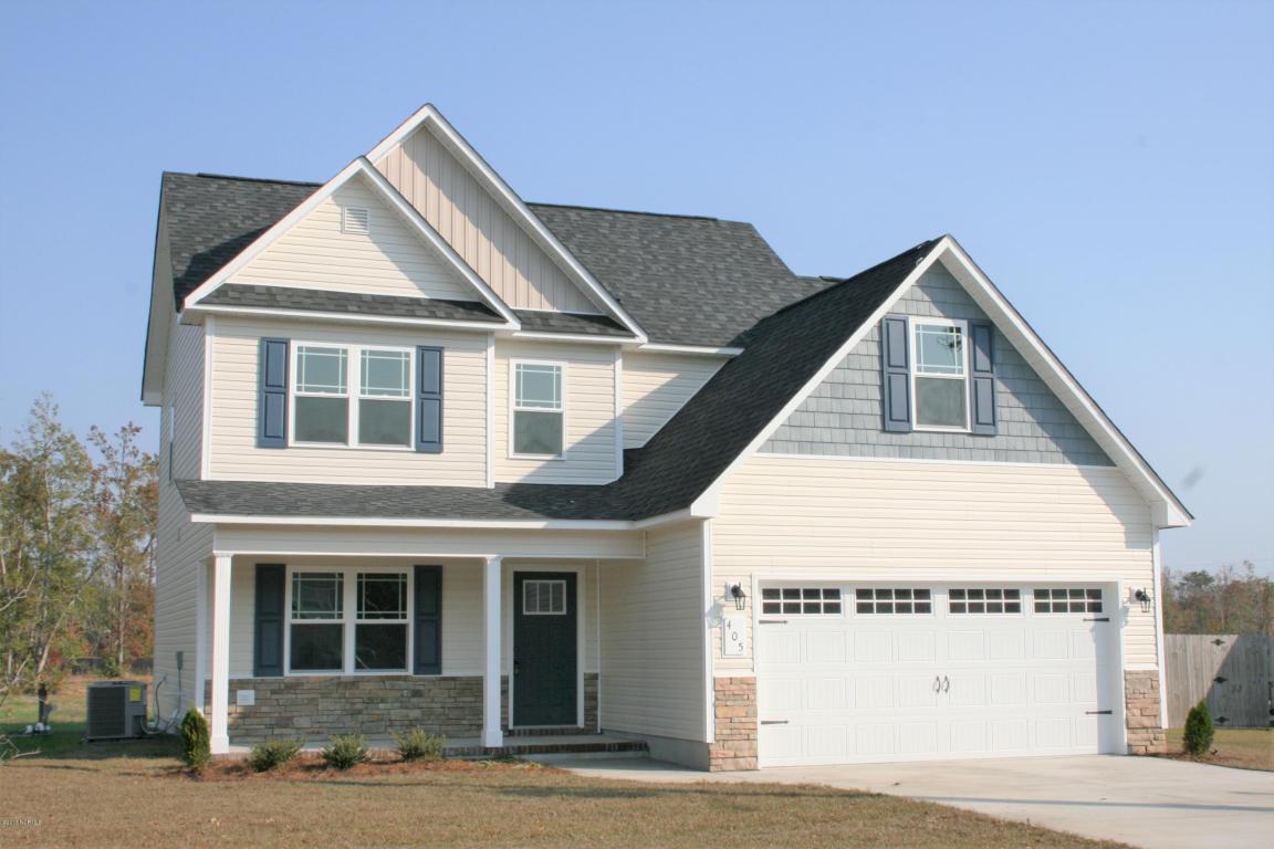 405 Mccall Drive, Jacksonville, NC 28540 (MLS #100026705) :: Century 21 Sweyer & Associates