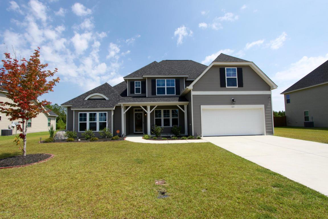413 Cyrus Thompson Drive, Jacksonville, NC 28546 (MLS #100027636) :: Century 21 Sweyer & Associates