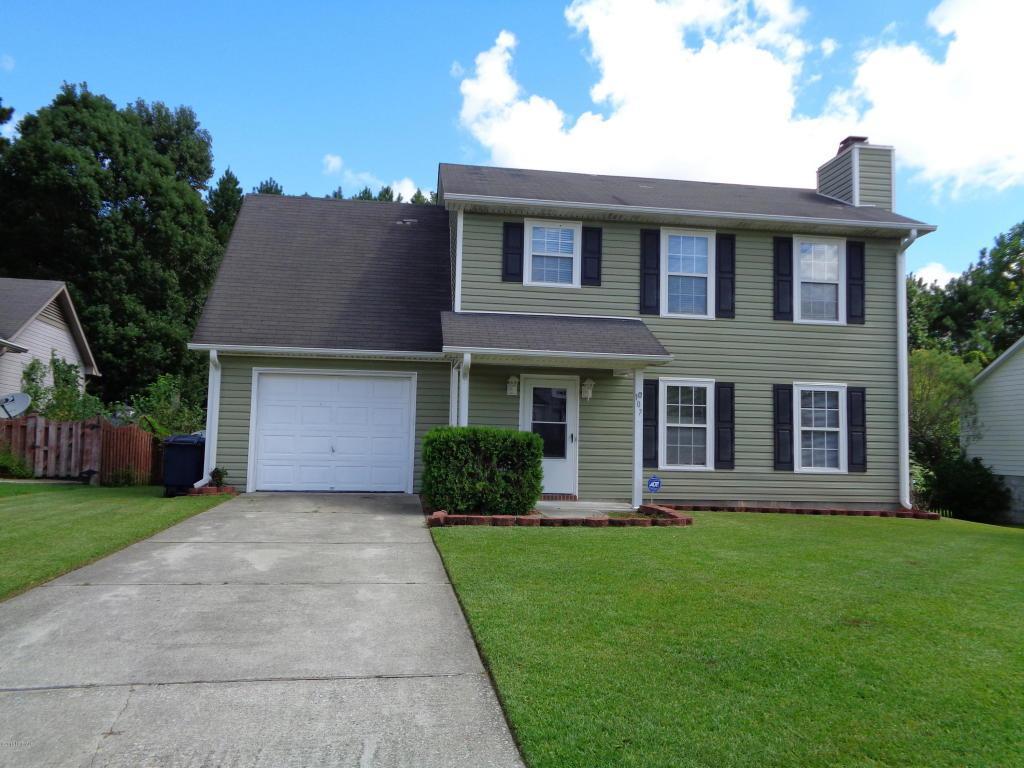 107 Suffolk Circle, Jacksonville, NC 28546 (MLS #100028246) :: Century 21 Sweyer & Associates