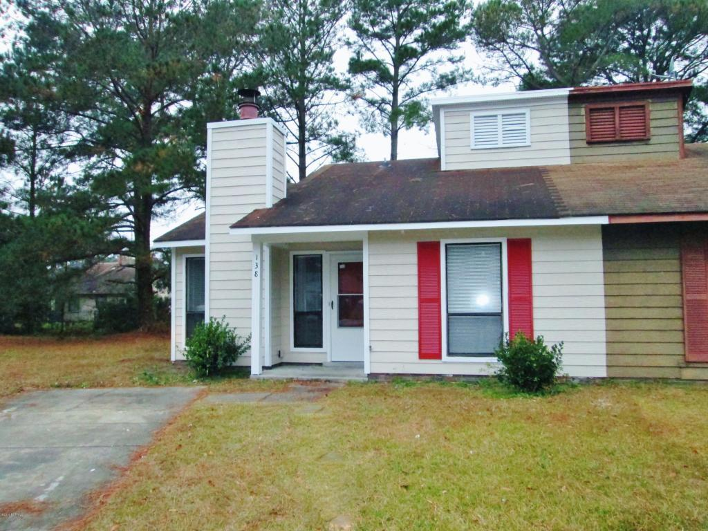 138 Village Court, Jacksonville, NC 28546 (MLS #100028678) :: Century 21 Sweyer & Associates
