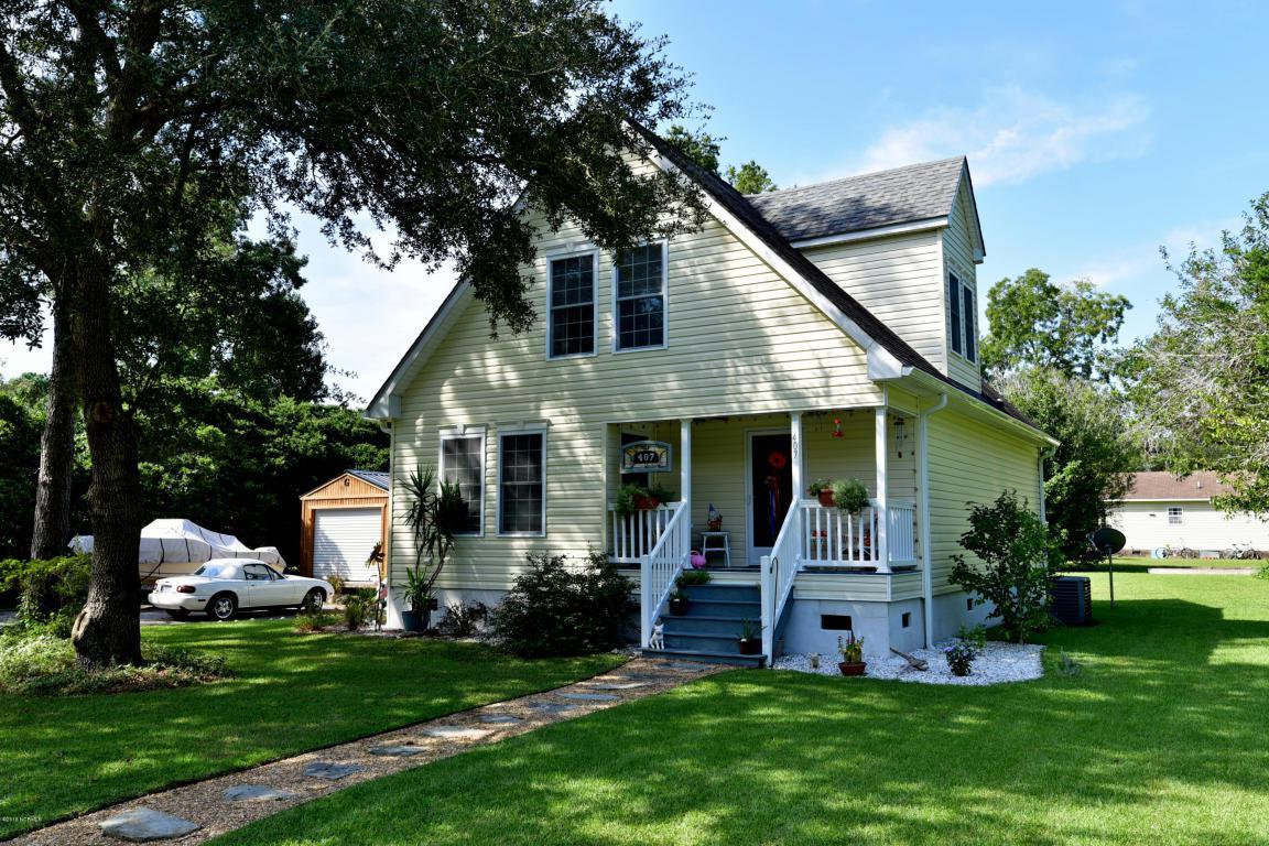 407 Vandemere Street, Oriental, NC 28571 (MLS #100028981) :: Century 21 Sweyer & Associates