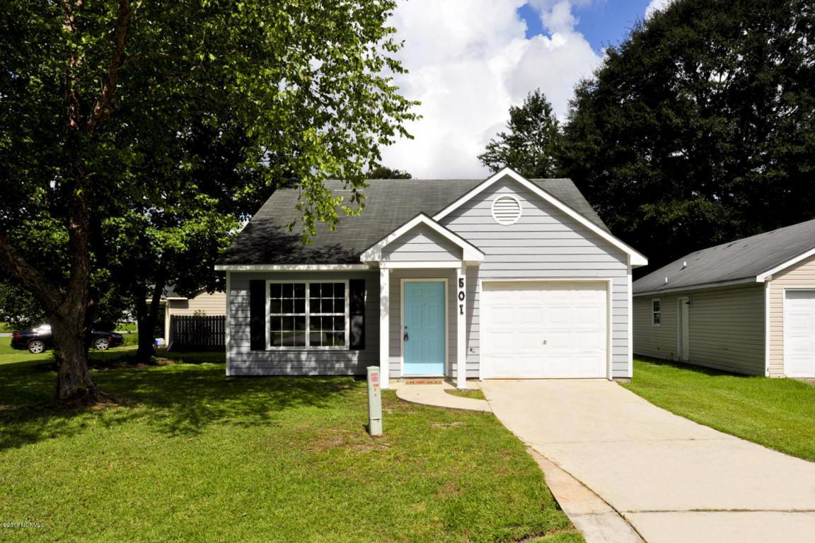 501 St George Cove, Jacksonville, NC 28546 (MLS #100029479) :: Century 21 Sweyer & Associates