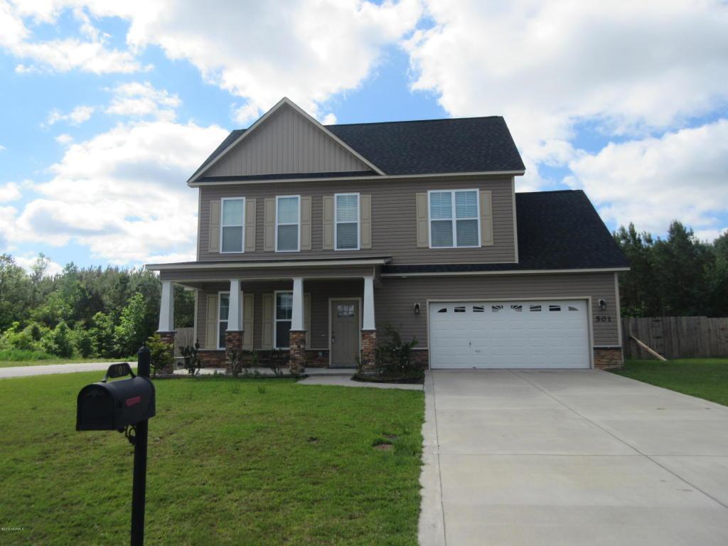 501 New Hanover Trail, Jacksonville, NC 28546 (MLS #100030686) :: Century 21 Sweyer & Associates