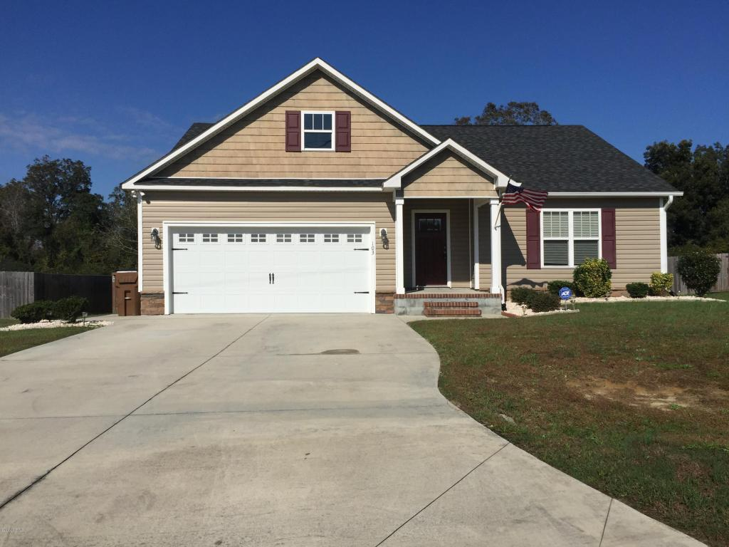103 Kodiak Court, Jacksonville, NC 28540 (MLS #100032907) :: Century 21 Sweyer & Associates