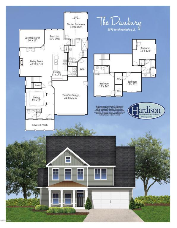 1125 Canopy Way, Wilmington, NC 28409 (MLS #100074131) :: David Cummings Real Estate Team