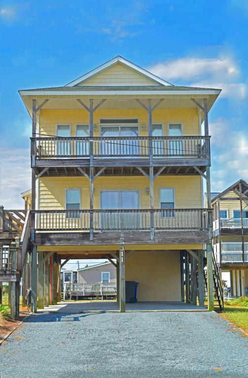 311 Seashore Drive, North Topsail Beach, NC 28460 (MLS #100082389) :: Alexander Koonce Team