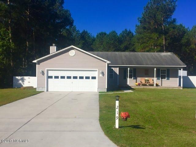 219 Bishop Drive, Jacksonville, NC 28540 (MLS #100085986) :: Century 21 Sweyer & Associates
