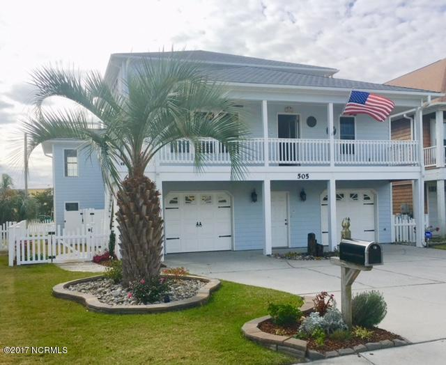 505 Sandman Drive, Kure Beach, NC 28449 (MLS #100088900) :: The Keith Beatty Team