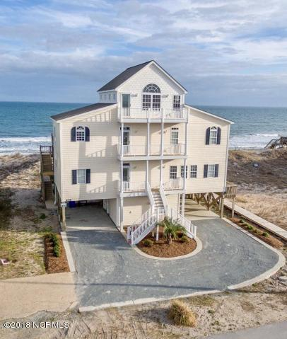 406 New River Inlet Road, North Topsail Beach, NC 28460 (MLS #100103126) :: The Oceanaire Realty