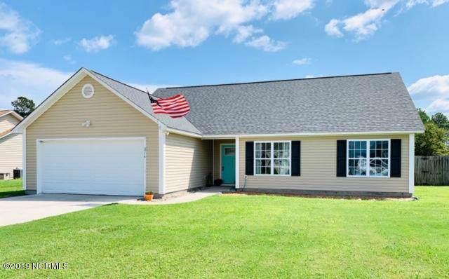 216 Cherry Blossom Drive, Richlands, NC 28574 (MLS #100184357) :: Century 21 Sweyer & Associates