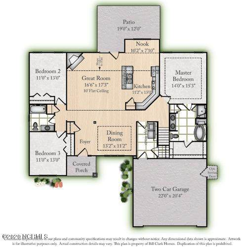 2314 Plumosa Drive, Grimesland, NC 27837 (MLS #100216051) :: Thirty 4 North Properties Group