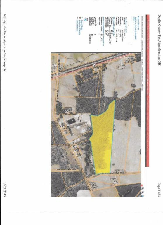1 Cy Cavenaugh Road, Warsaw, NC 28398 (MLS #30530220) :: Century 21 Sweyer & Associates